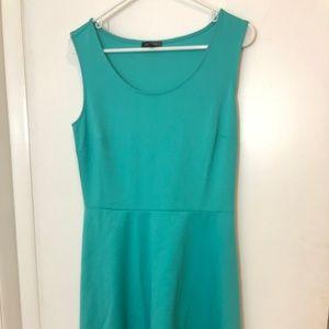 The Limited Teal A-Line Medium Dress